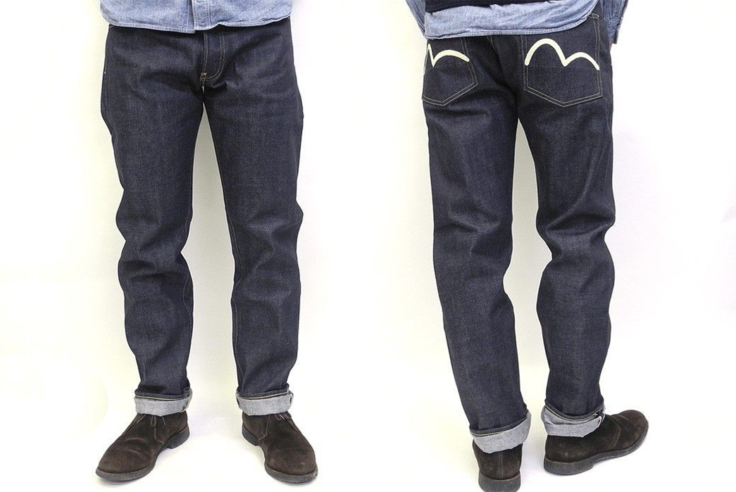 evisu-lot-2000-no-2-raw-denim-jeans-model-front-back