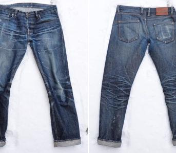 fade-friday-warehouse-x-big-660-1-5-years-1-wash-1-soak-leg-selvedge-front-back