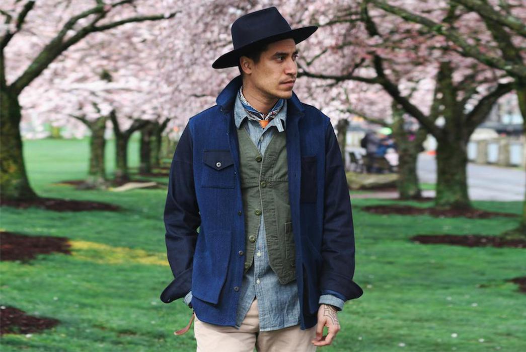 kiriko-helps-stock-mfg-reinterpret-two-of-their-staples-with-vintage-japanese-fabrics-sashi-model-front