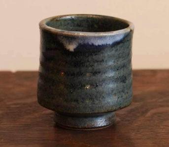 kiriko-mashiko-yaki-indigo-tea-cup