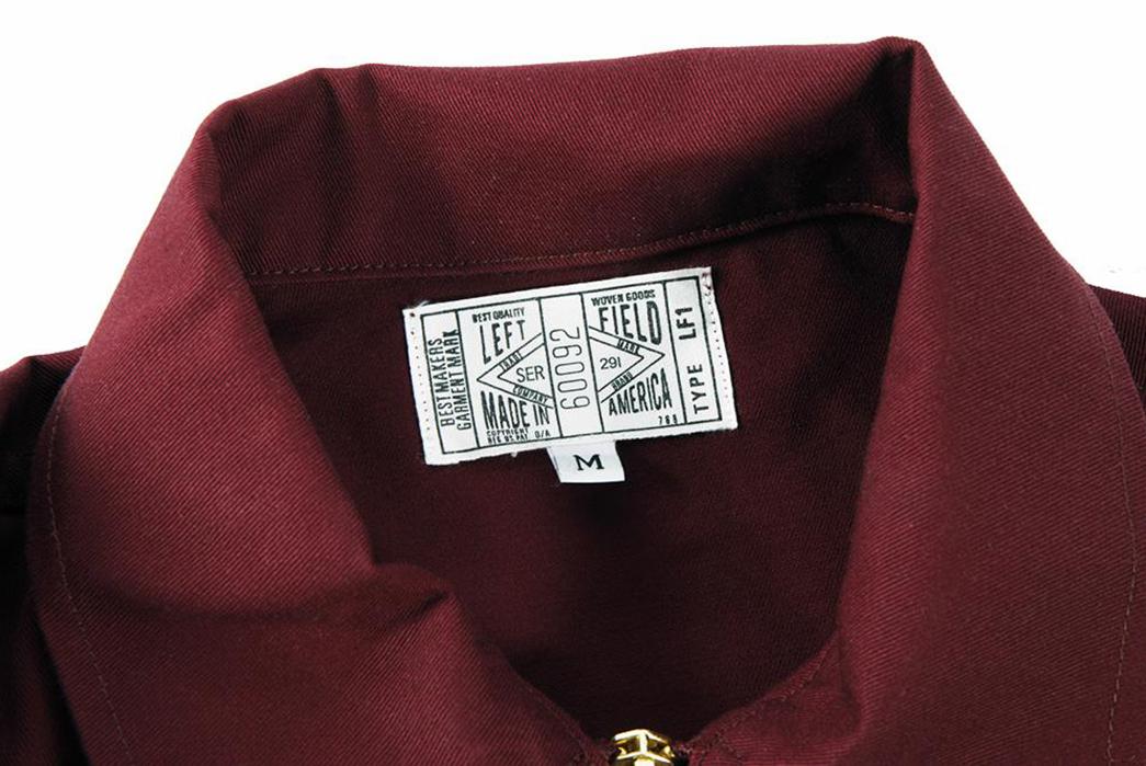 left-field-garage-jackets-maroon-front-collar