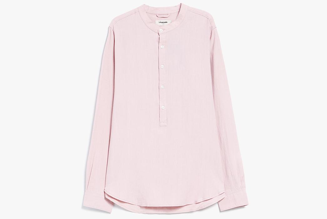 long-sleeved-linen-popovers-five-plus-one-2-la-panoplie-tencel-linen-banded-collar-shirt