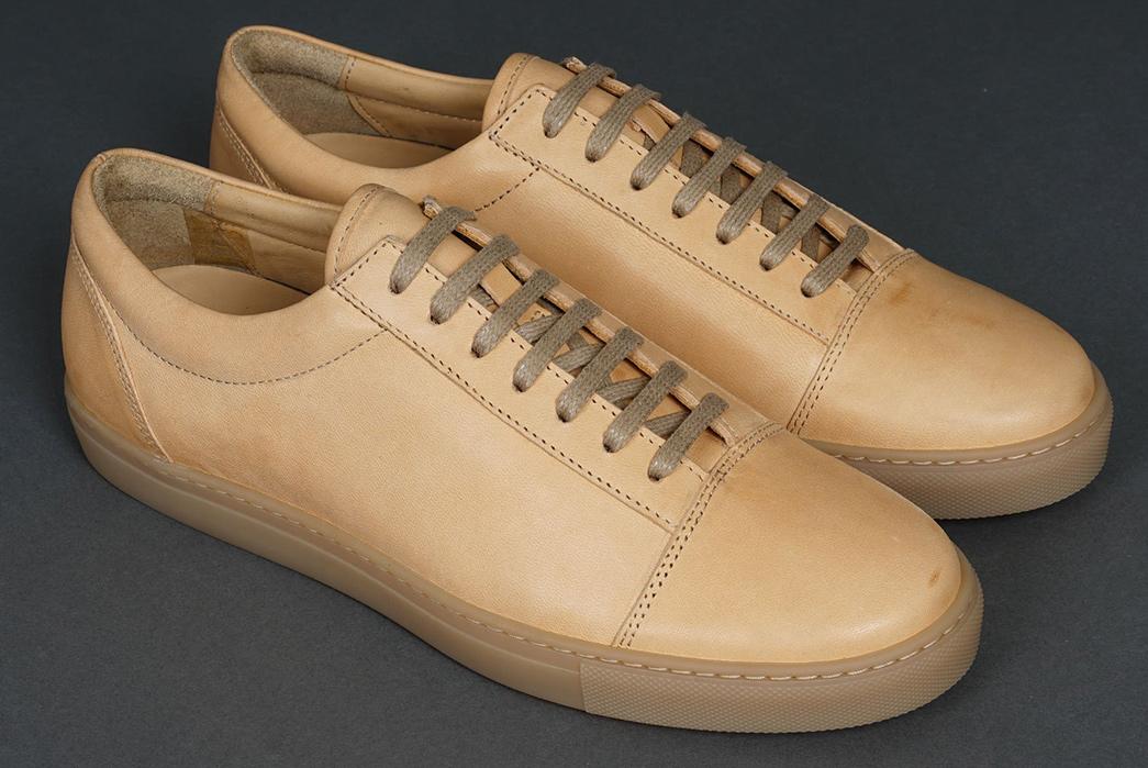 Epaulet's-Latest-Natural-Horsehide-Sneakers-is-Inspired-by-Vans-Sneakers-low-pair-front-side