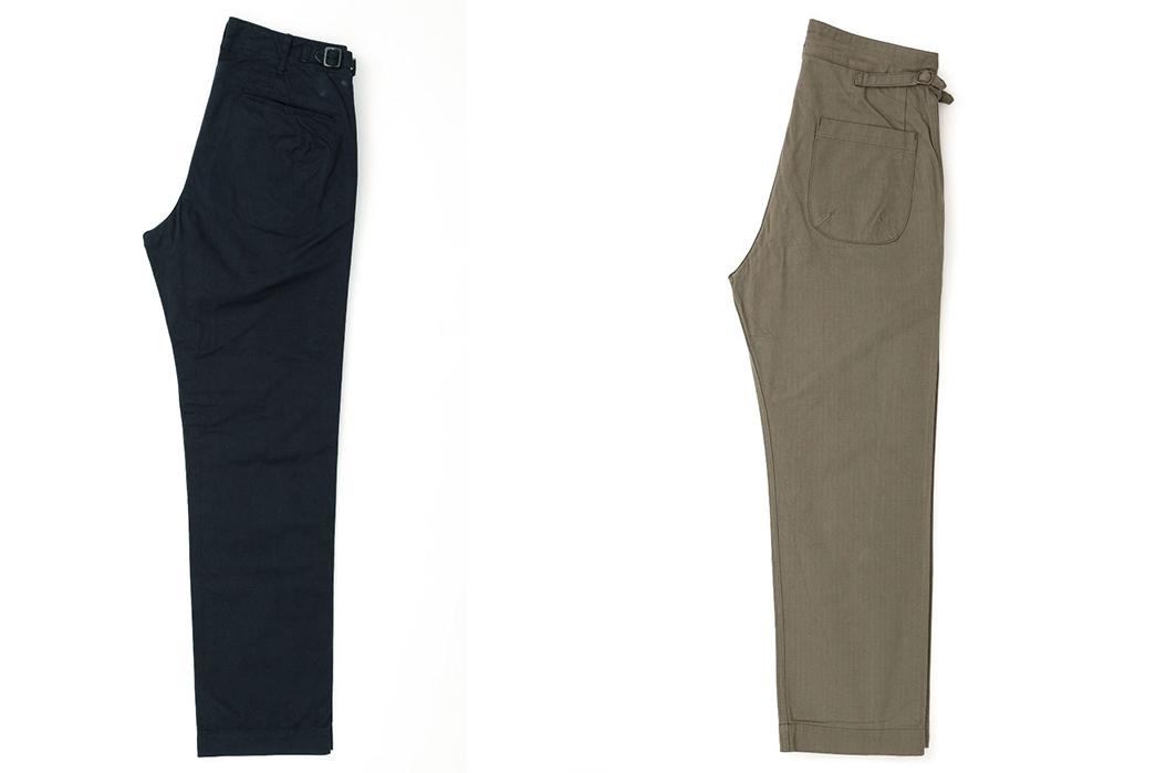 Fujito-Gurkha-Pants-navy-and-khaki-sides