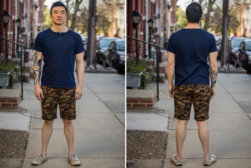 Rogue-Territory-Japanese-Camo-Ripstop-Safari-Shorts-model-front-back