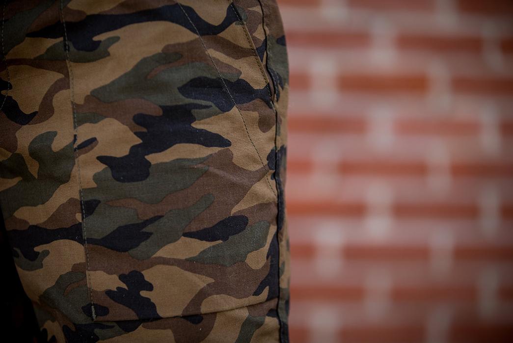 Rogue-Territory-Japanese-Camo-Ripstop-Safari-Shorts-model-front-left-pocket