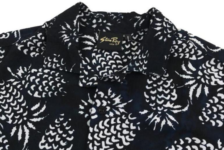 stan-ray-black-pina-batik-kelapa-short-sleeve-shirt-front-collar</a>