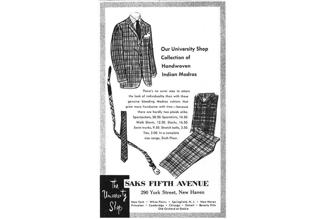 The-History-of-Madras-Fabric-Saks-ad.-Image-via-Pinterest.