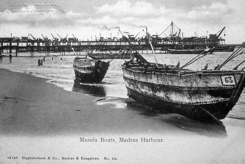 The-History-of-Madras-Fabric Old Madraspatnam. Image via 121 clicks.