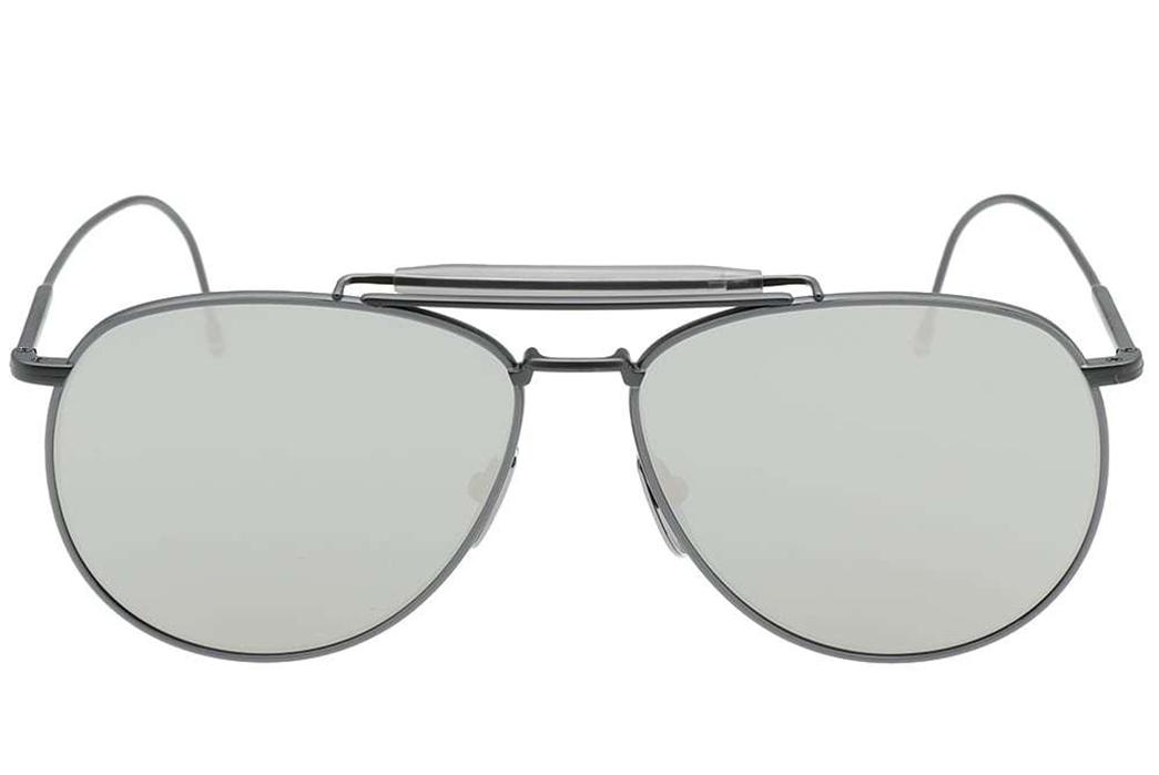 Aviator-Sunglasses---Five-Plus-One-Plus-One---Thom-Browne-TB-015-Sunglasses