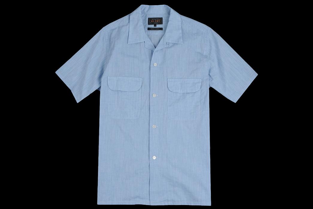 Beams+-Made-in-Japan-Spring-2018-Shirting-light-blue