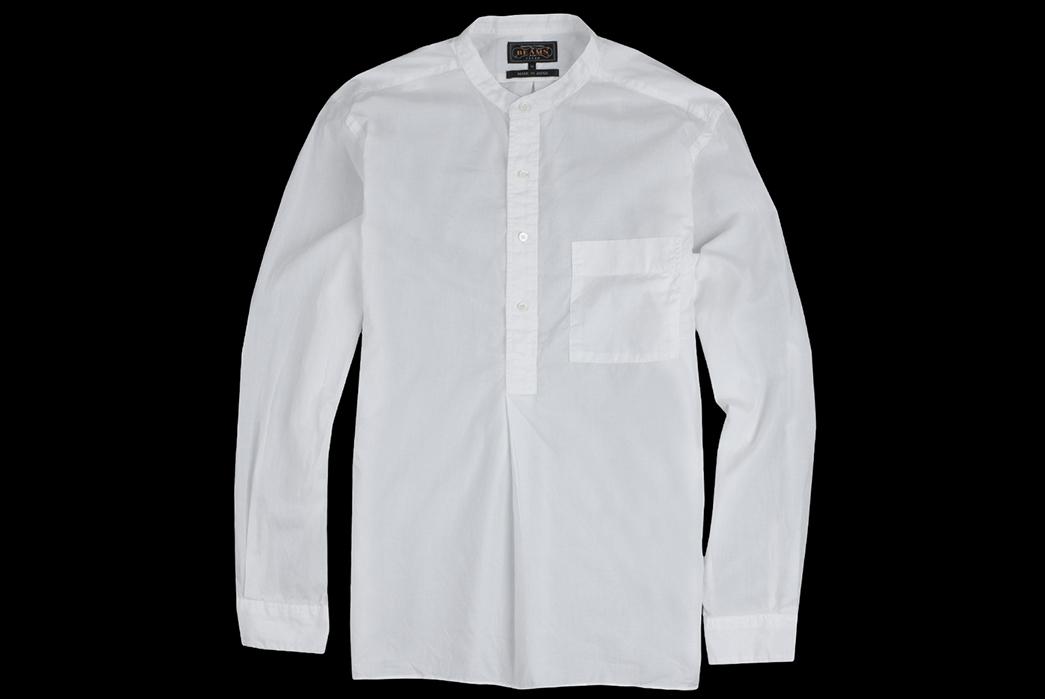 Beams+-Made-in-Japan-Spring-2018-Shirting-white