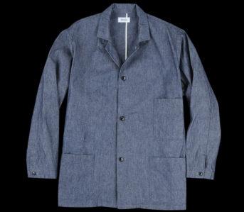 Chimala-10oz.-Selvedge-Chambray-Work-Coat-front