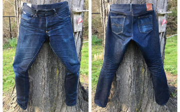 Fade-of-the-Day---Studio-D'artisan-x-Denimio-DM-002-(6-Months,-1-Wash,-1-Soak)-front-back
