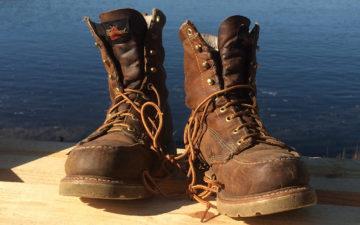 Fade-of-the-Day---Thorogood-804-Steel-Moc-Toe-Boots-(1-Year)-pair-front