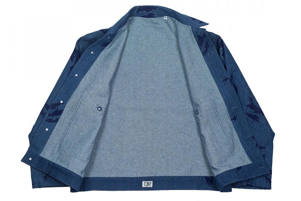 Handprinted-Denim-Makes-its-Way-into-the-Tony-Shirtmakers'-Minimalist-Jacket-front-open
