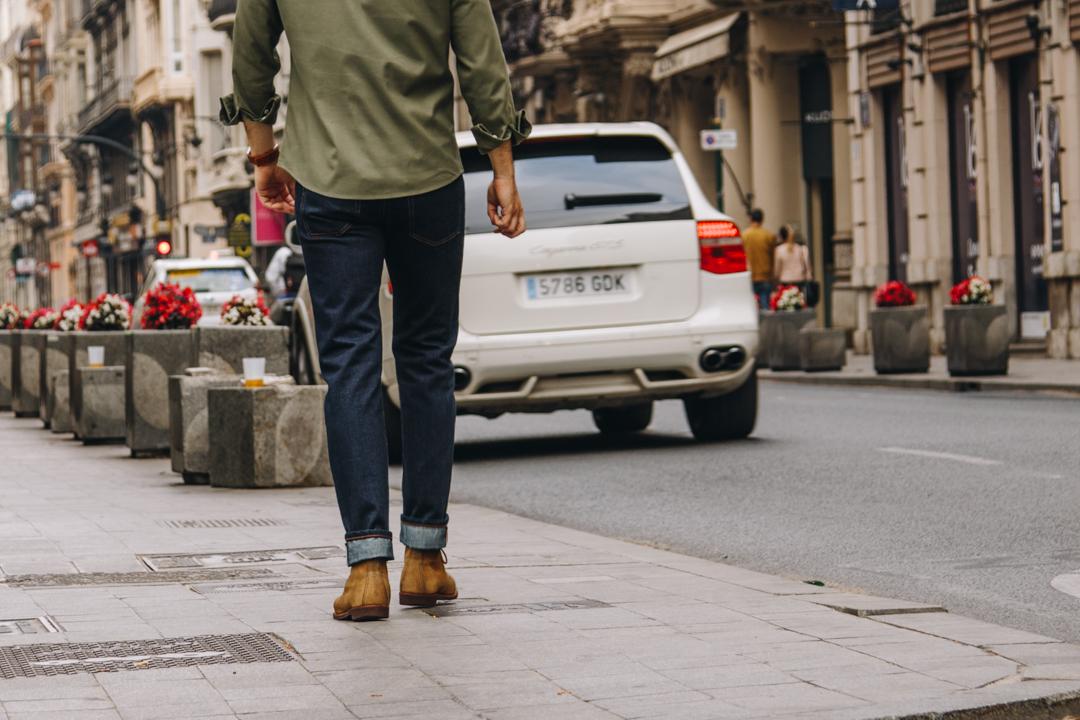 Heddels Sanjuan One Wash Selvedge 13 oz Jeans Agreste Clothing Rugged Garments Passionately Made In Valencia For Adventurous Urbanites-1