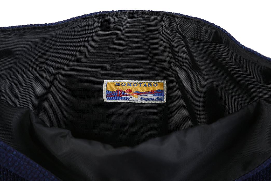 Momotaro-Indigo-Sashiko-Two-Way-Backpack-inside-patch