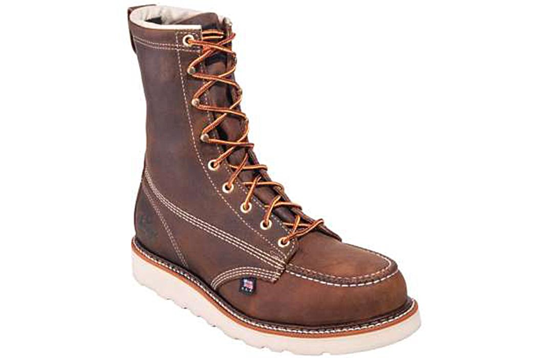 Thorogood-804-Moc-Toe-Boots-single-front-side