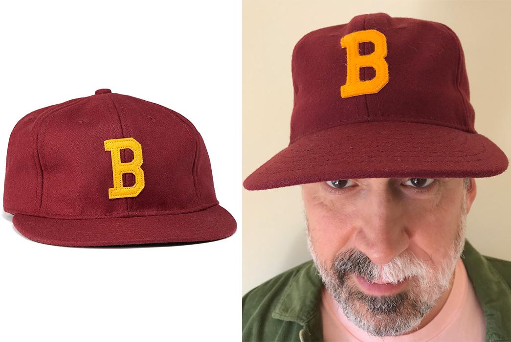 Vintage-Style-Baseball-Caps---Five-Plus-One-(Plus-One-More!)-Bordeaux