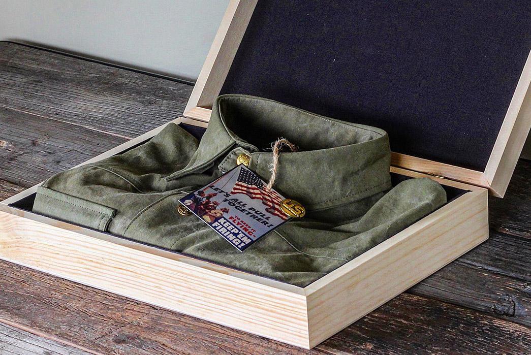 Black-Bear-WWII-Shirt-Jacket-folded-in-box