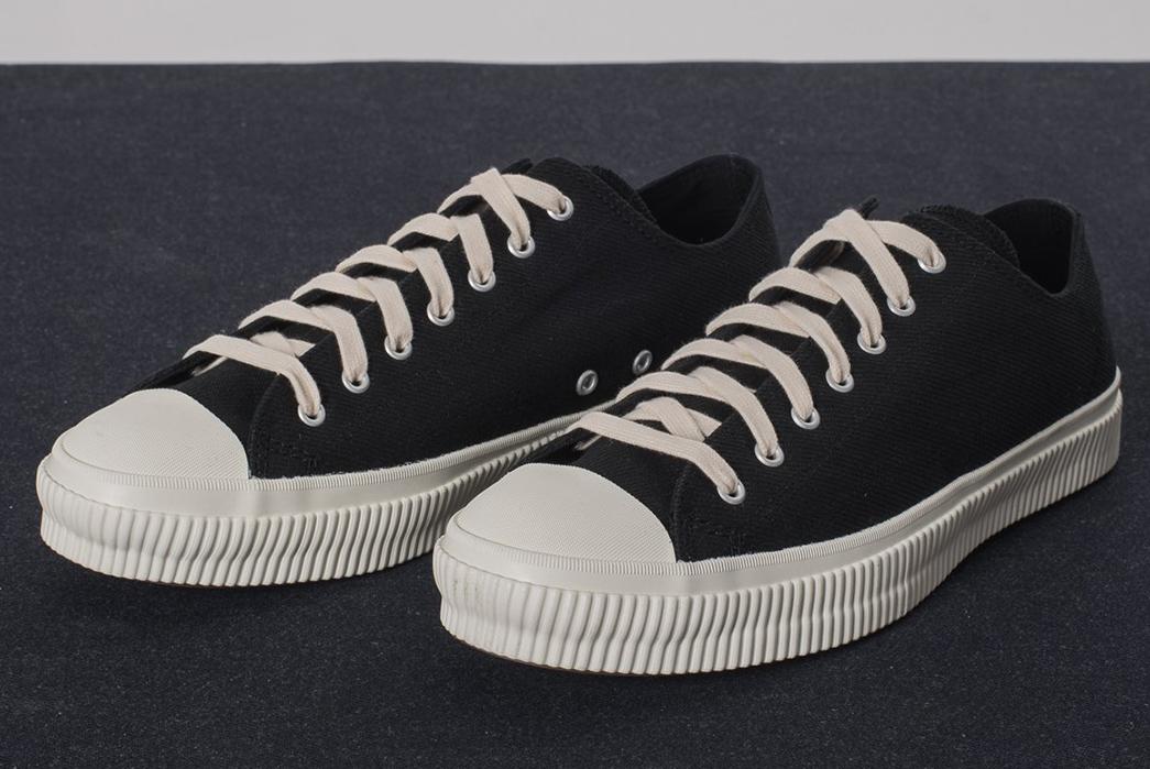 Iron-Heart-21oz.-Denim-Sneakers-pair-dark-front-side
