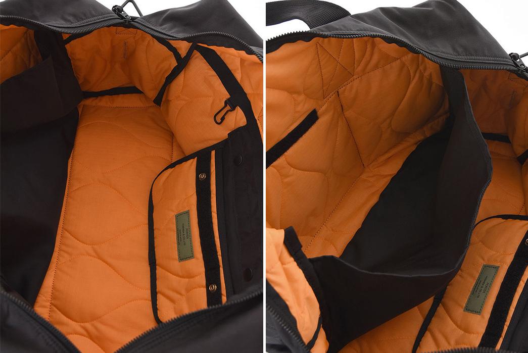 Porter-2-Way-Duffle-Bag-inside