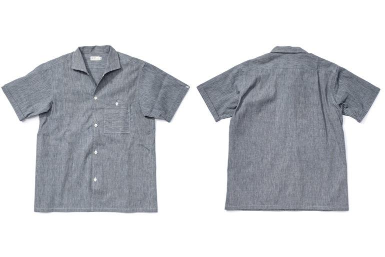 Warehouse-Open-Collar-Shirt-front-back</a>