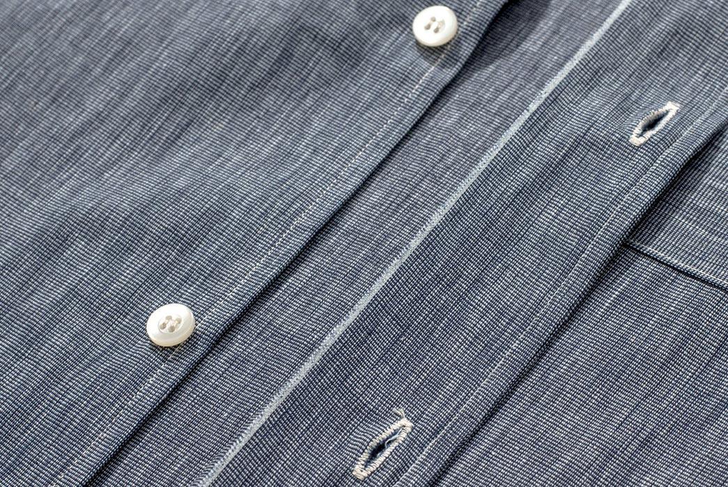 Warehouse-Open-Collar-Shirt-front-pockets