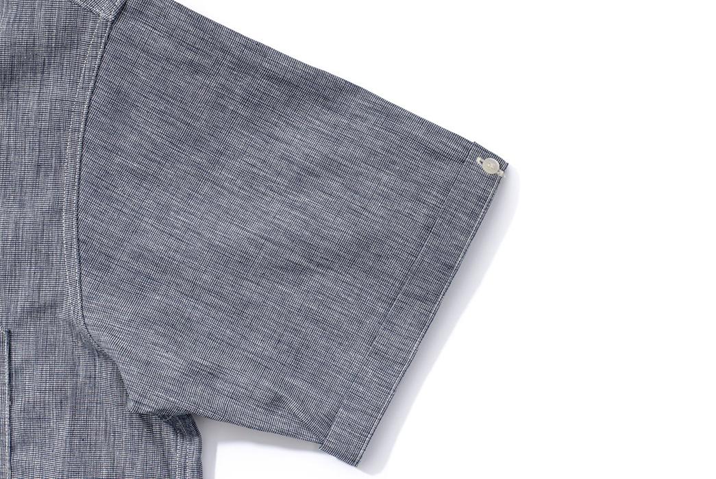 Warehouse-Open-Collar-Shirt-sleeve