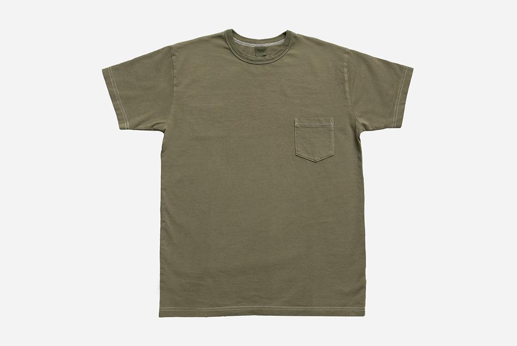 3sixteen-garment-dye-Olive_Tee_Pocket_Front