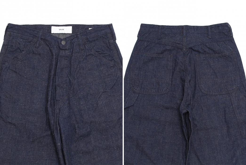Apache-Neppy-Denim-Painter-Pants-front-back-top