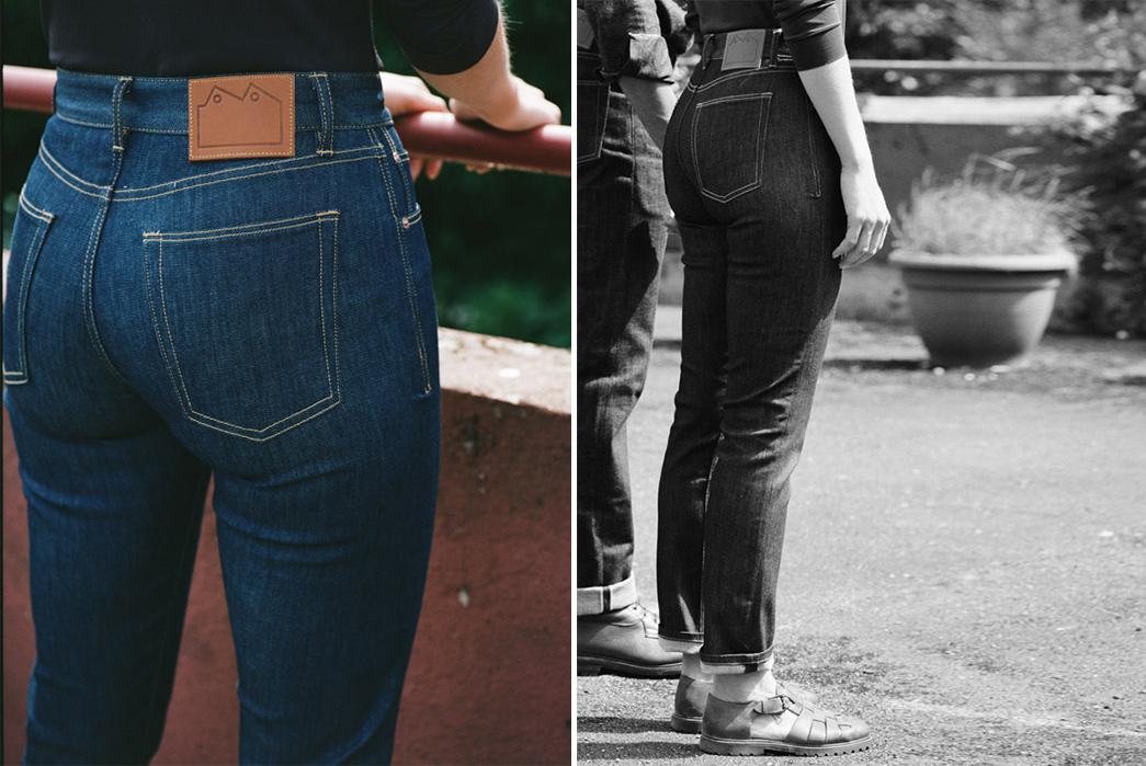 Blackhorse-Lane-Ateliers-High-Rise-Slim-Straight-female-model