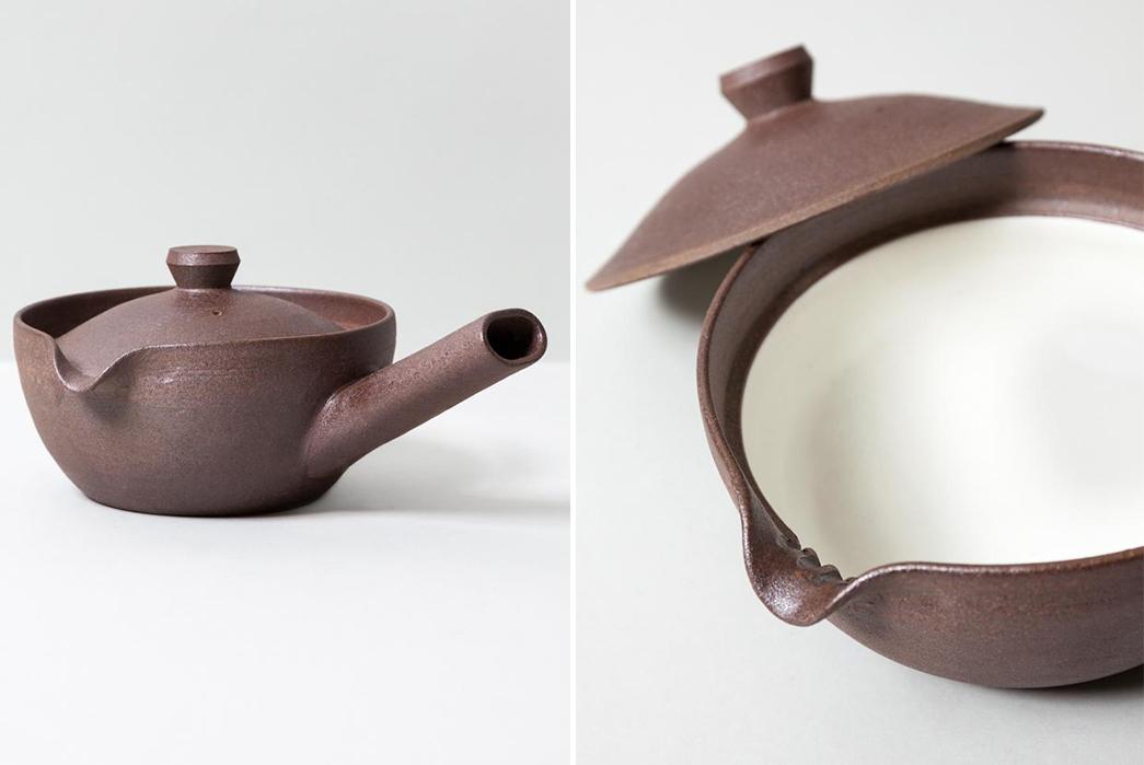 Centerpiece-Teapots---Five-Plus-One-4)-Rikumo-Yakishime-Teapot