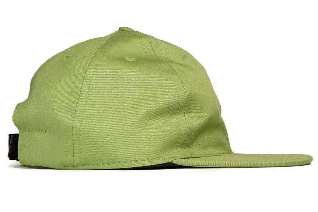 FairEnds-Organic-Cotton-Twill-Ball-Caps-light-green-right-side