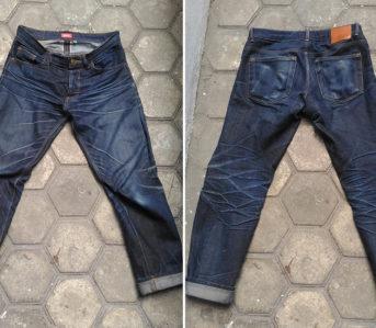 Iron-Heart-x-Kronoz-Raw-Denim-Jeans-seam-front-back