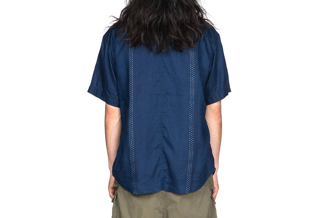 Kapital-IDG-Linen-Wabash-Dye-Print-Baseball-Shirt-05