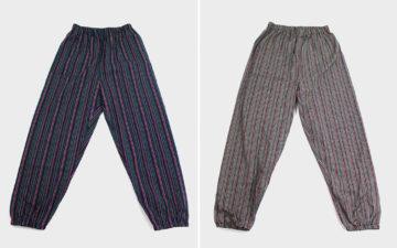 Kiriko's-Monpes-are-Some-Kinda-Zubaz-Pant-indigo-and-gray-fronts