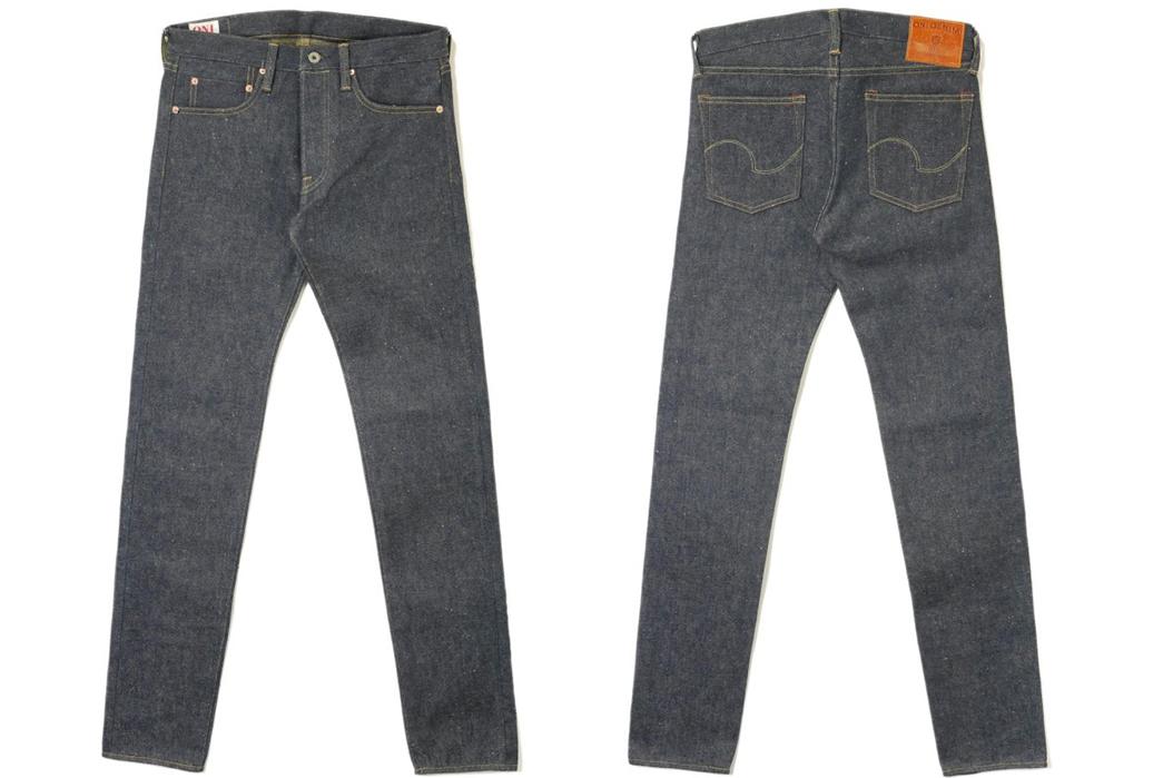 Oni-Denim-676ZR-Raw-Denim-Jeans-front-back