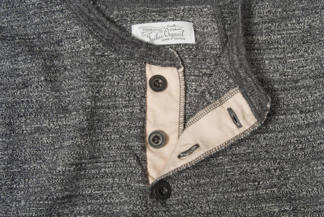 Orgueil-Wave-Master-Flexes-into-a-Short-Sleeve-Henley-grey-front-open-collar