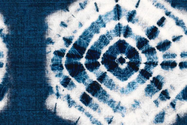 Shibori---Indigo-Tie-Dye-via-Ancient-Japan Image via Smithhonig