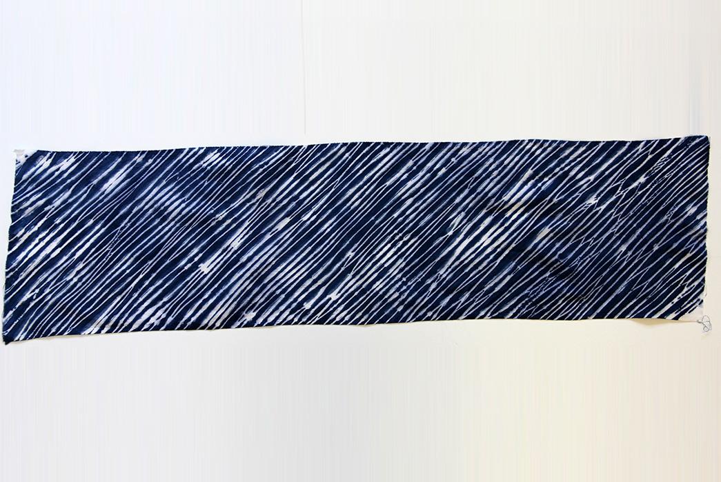 Shibori---Indigo-Tie-Dye-via-Ancient-Japan-Arashi-shibori-via-Common-Fold-Blog