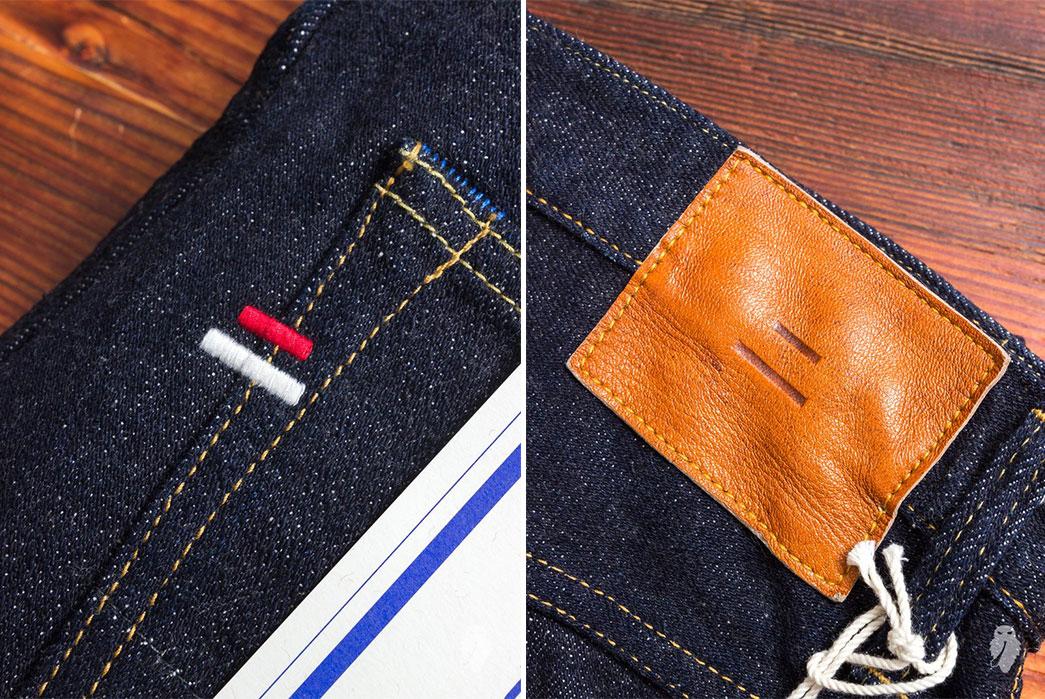Tanuki-NSXT-SEN-16.5oz.-Natural-Indigo-Stretch-Selvedge-Denim-back-seams-and-leather-patch
