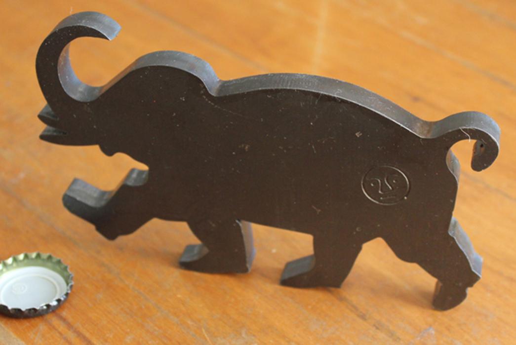 Unique-Bottle-Openers---Five-Plus-One-4)-Tender-Oil-Hardened-Steel-Elephant-Bottle-Opener