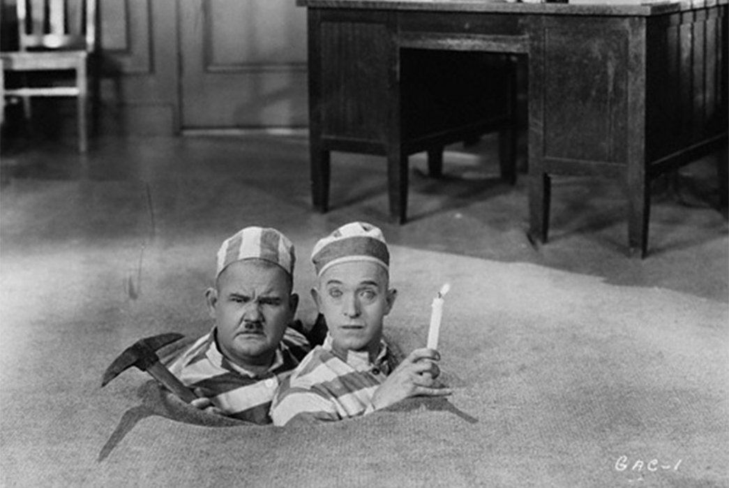 Wabash,-Hickory,-and-Bengal-Oh-My---A-Guide-to-Stripes-of-All-Stripes-Laurel-and-Hardy-in-Pardon-Us-(1931).-Image-via-The-End-of-Cinema.