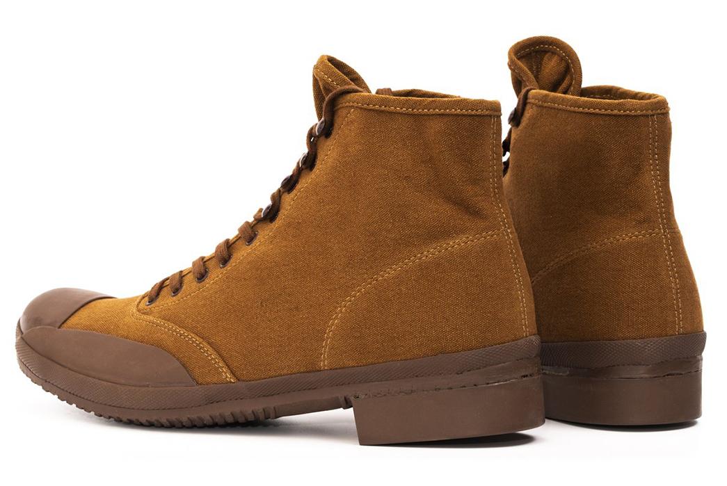 Belafonte-Ragtime-Captoe-Canvas-Boots-brown-pair-back-side