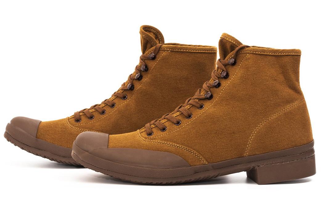 Belafonte-Ragtime-Captoe-Canvas-Boots-brown-pair-side