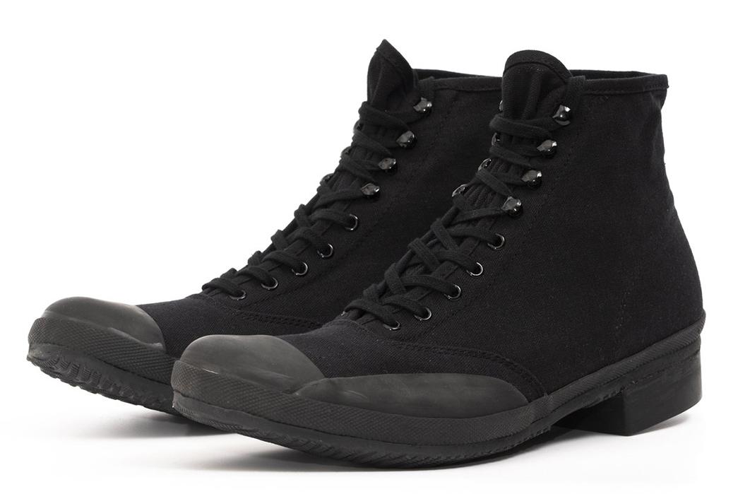 Belafonte-Ragtime-Captoe-Canvas-Boots-pair-front-side