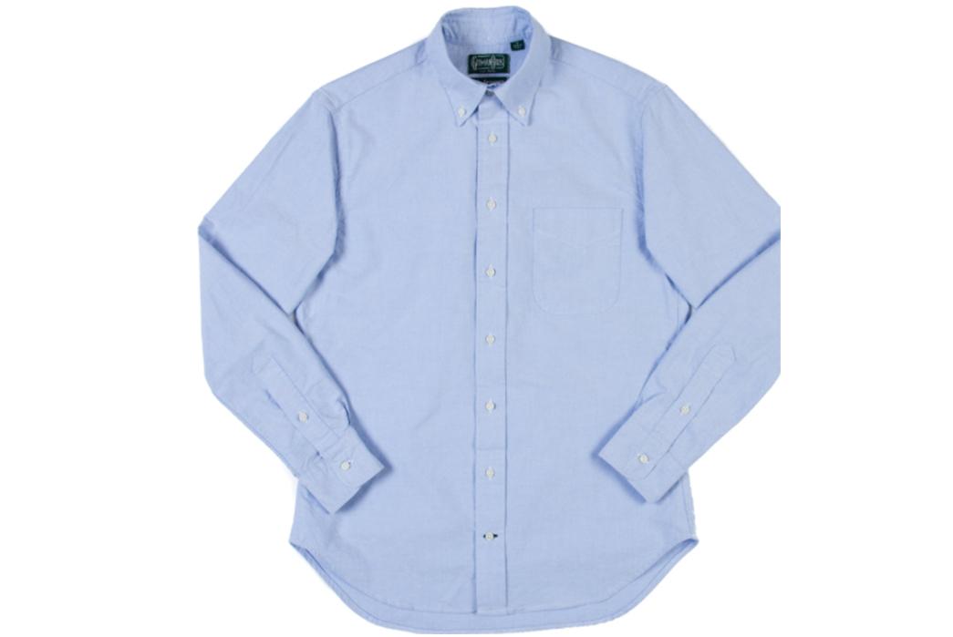 Building-Blocks-to-a-Better-Wardrobe-Gitman-Vintage-Oxford.-Image-via-Black-Blue.