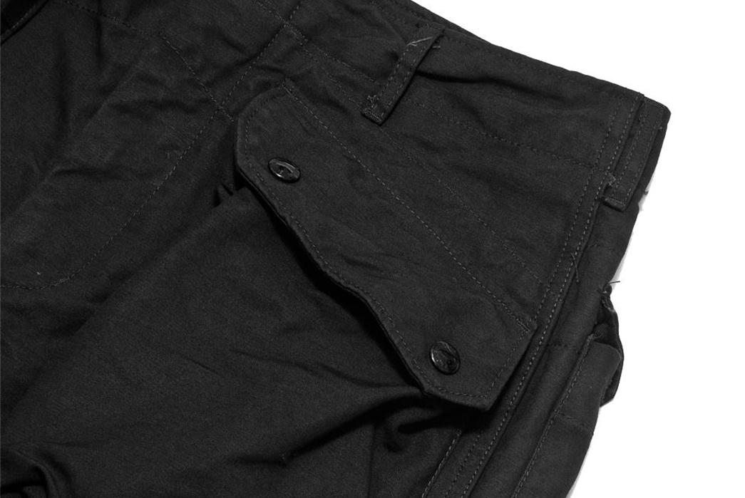 Engineered-Garments-Cotton-Double-Cloth-Norwegian-Pants-black-detailed